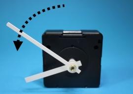 Quartz uurwerk tegengestelde draairichting
