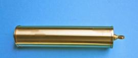 Ar2. 1 messing gewichten huls zonder inhoud. 155/30mm