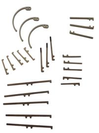 B010 set van 24 originele palveren voor grootwerk