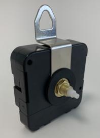 Standaard JH1668 quartz met KLEMFITTING aslengte 17 mm (asgaten 5 en 3,2 mm)