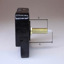 Standaard Quartz met zeer lange as, A=31 mm