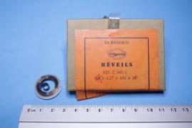 rev-7 Opwindveer voor wekker 4,1 x 0,27 x 650 x 20 mm