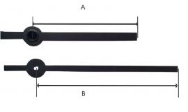QEF 509 moderne wijzerset  55/75 mm