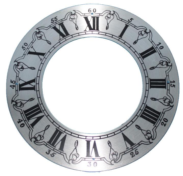 109.26 Brass chapter ring, 145 mm