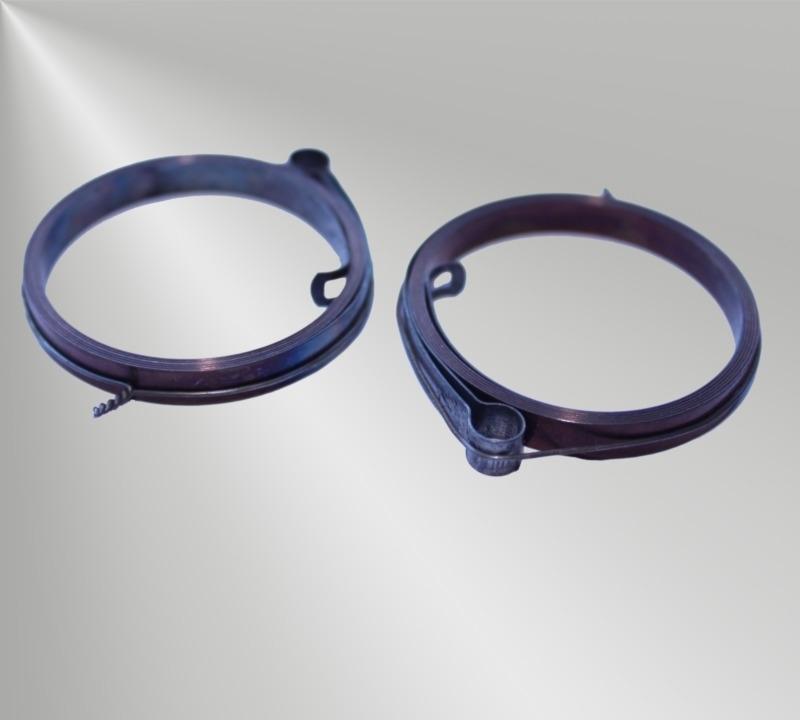 Standaard opwindveer met lus, 12 x 0,42 x 2500 mm