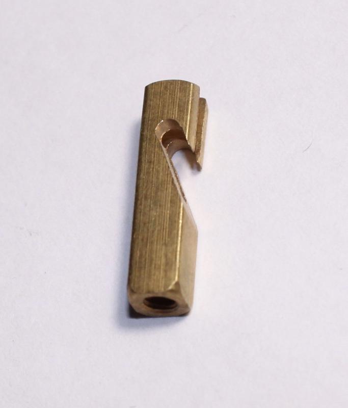 P88 Losse slingerhaak voor o.a. slinger voor Frans uurwerk