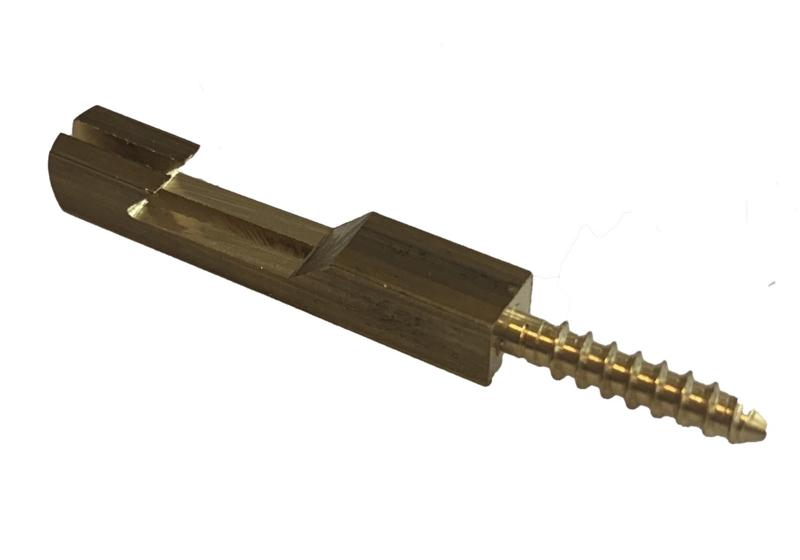 P89 Losse slingerhaak met schroefdraad voor houten slinger,  37 mm