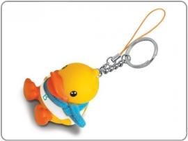 Bduck sleutel/mobielhanger boy