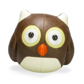 Zuny Classic Owl brown paperweight
