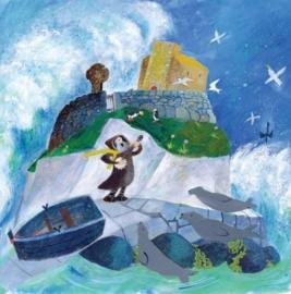 St Cuthbert sings tothe seals