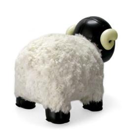 Zuny Horned Sheep black & white