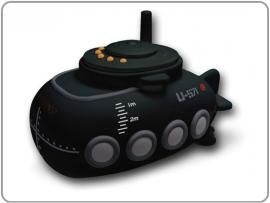 Bad U-boat radio zwart