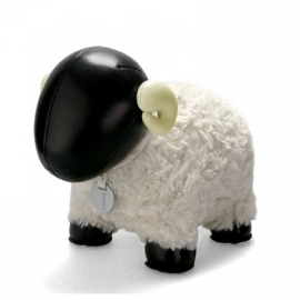Zuny Horned Sheep black & white