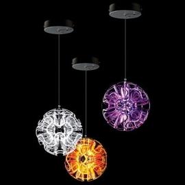 Qis design Coral Ball LED Pendant Lamp Violet