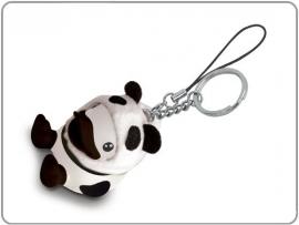Bduck sleutel/mobielhanger panda