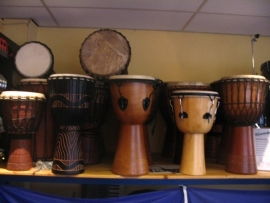 Diverse Percussie instrumenten