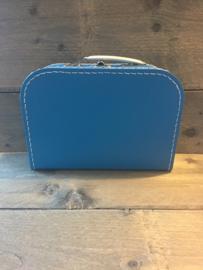 Koffer aquablauw 35 cm