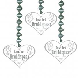 Hangdecoratie: Leve het Bruidspaar