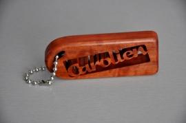 Schlüsselanhänger handgefertigt mit Ihrem Namen art.nr. 14003