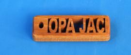 Sleutelhanger Robuust 1,2 cm met eigen naam art.nr. 15005