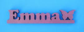 Name auf der Bar gefärbtem 19 mm dickem Valchromat.