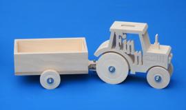 Aanhangwagen voor spaarpot tractor.