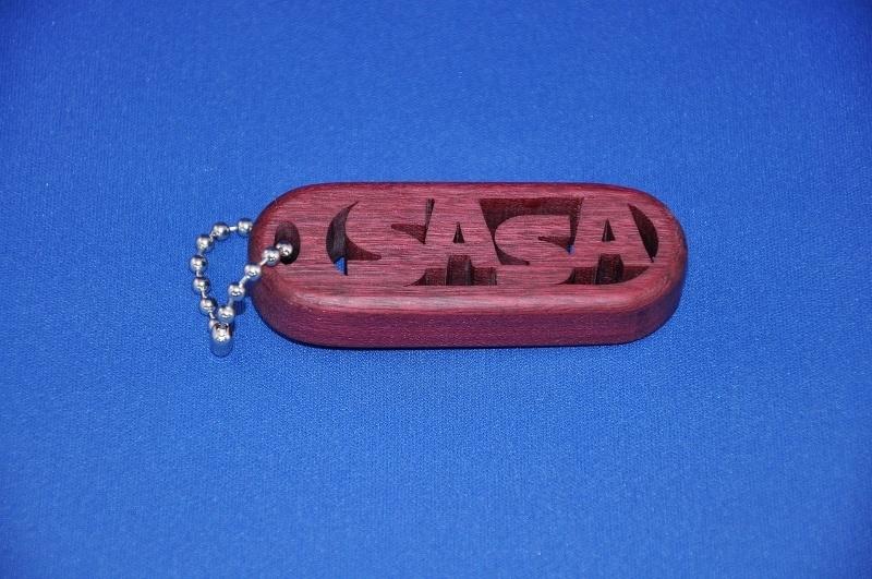 Schlüsselanhänger handgefertigt mit Ihrem Namen. art.nr. 14006