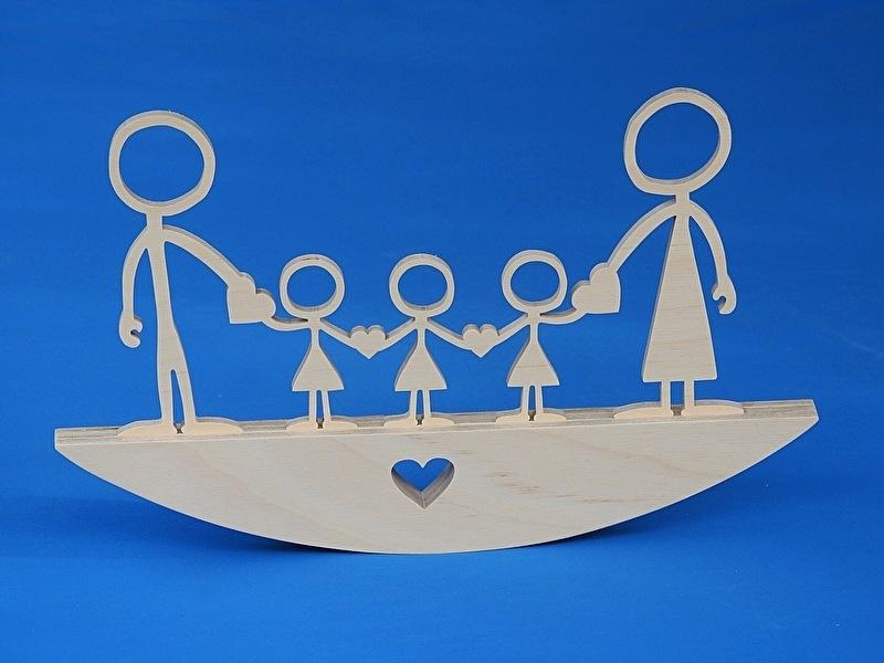 Mutterschaftsgeschenk, Happy Family No. 8