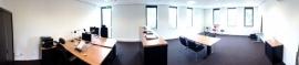 Eerste werkdag in nieuw Kantoor