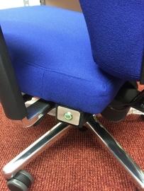 Stoelverwarming maatwerk bureaustoel