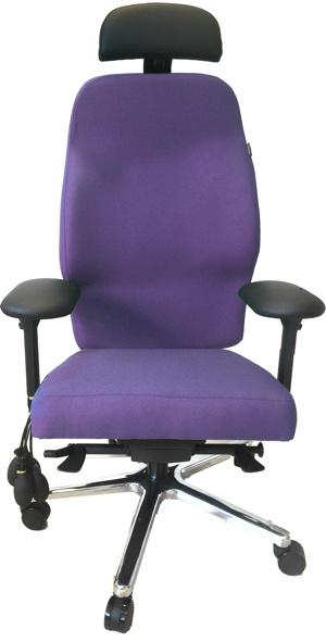 Maatwerk orthopedische stoel voor cliënt met een Scoliose