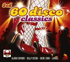 60 DISCO CLASSICS      * 3 CD-BOX *