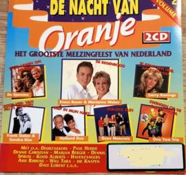 NACHT VAN ORANJE,  de    *Het Grootste Meezingfeest van Nederland*  -vol 2-