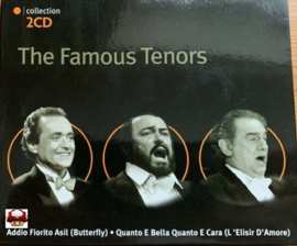 FAMOUS TENORS, the     *2CD Collection-black*
