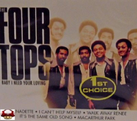 FOUR TOPS   *BABY I NEED YOUR LOVING*