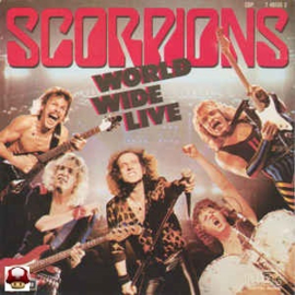 SCORPIONS        * WORLD WIDE LIVE *