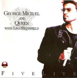 GEORGE MICHAEL and QUEEN with LISA STANSFIELD      *FIVE LIVE*