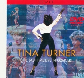 TINA TURNER    'One Last Time In Concert'