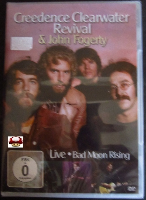 CREEDENCE CLEARWATER REVIVAL & JOHN FOGERTY   *LIVE*BAD MOON RISING*