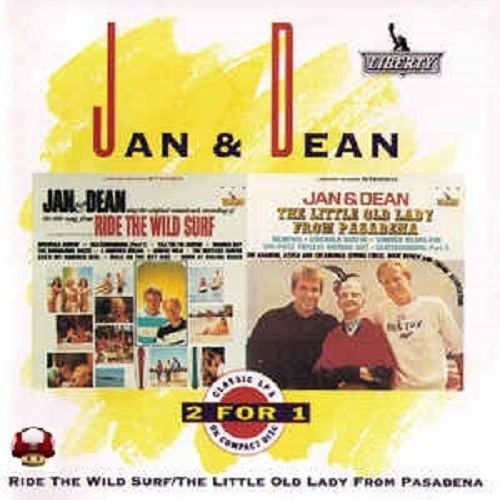 JAN & DEAN     *RIDE THE WIDE SURF*  *THE LITTLE OLD LADY FROM PASADENA*