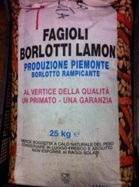 Borlotti bonen /  Borlotti Lamon di Cuneo/ Borlotti extra dik / Italië ( Lamon) / Oogstjaar 2020 / 0,4 kilo
