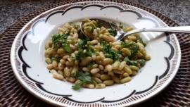 Salade met Flageolets