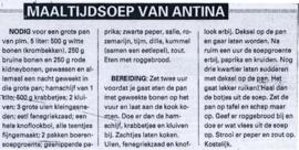 Antina's bonengerecht met krombekken