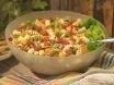 Salade met Reade Krobbe en Fruit en Noten