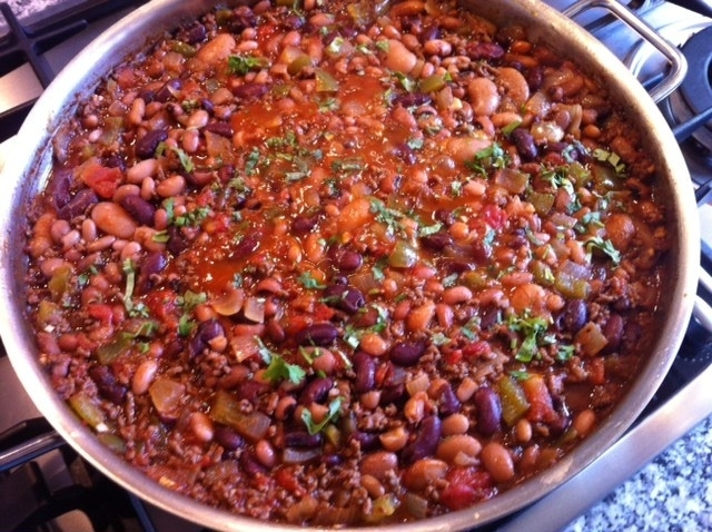 6-Bean Chili, een Mexicaans recept