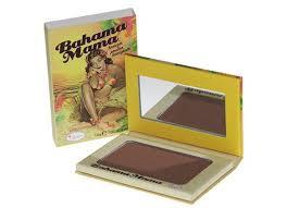 The Balm - Bahama Mama Bronzer + gratis nieuwe lipstick tester + gratis make up tasje