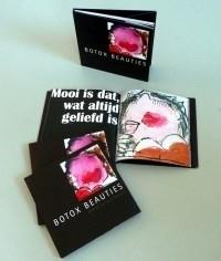 Gerdine Duijsens  Boek+ Box + zeefdruk 1 / titel:  Botox beauties