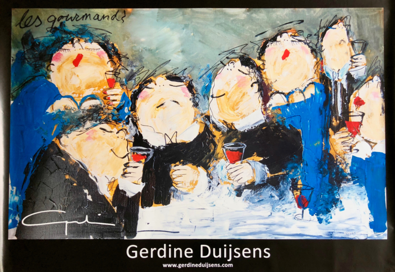 Poster - Les Gourmands
