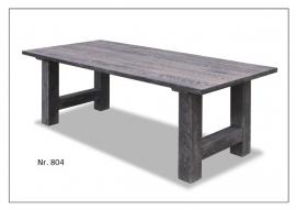 804 km tafel van 140 cm tot 240 cm eiken nieuwe tafel mooi laagst geprijst bij Internetmeubel