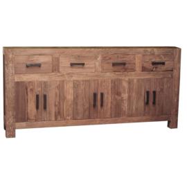 Oriental Dressoir model B 210 cm breed deze serie gemaakt van oud gerecycled Teak hout